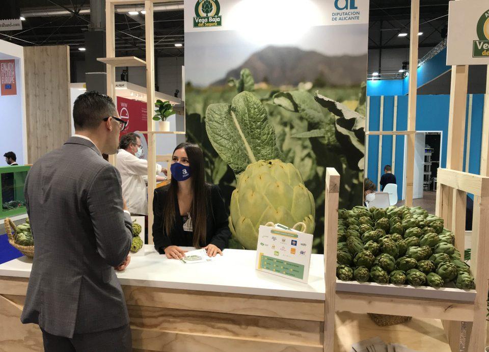 La alcachofa de la Vega Baja se posiciona como marca de referencia en Fruit Attraction 6