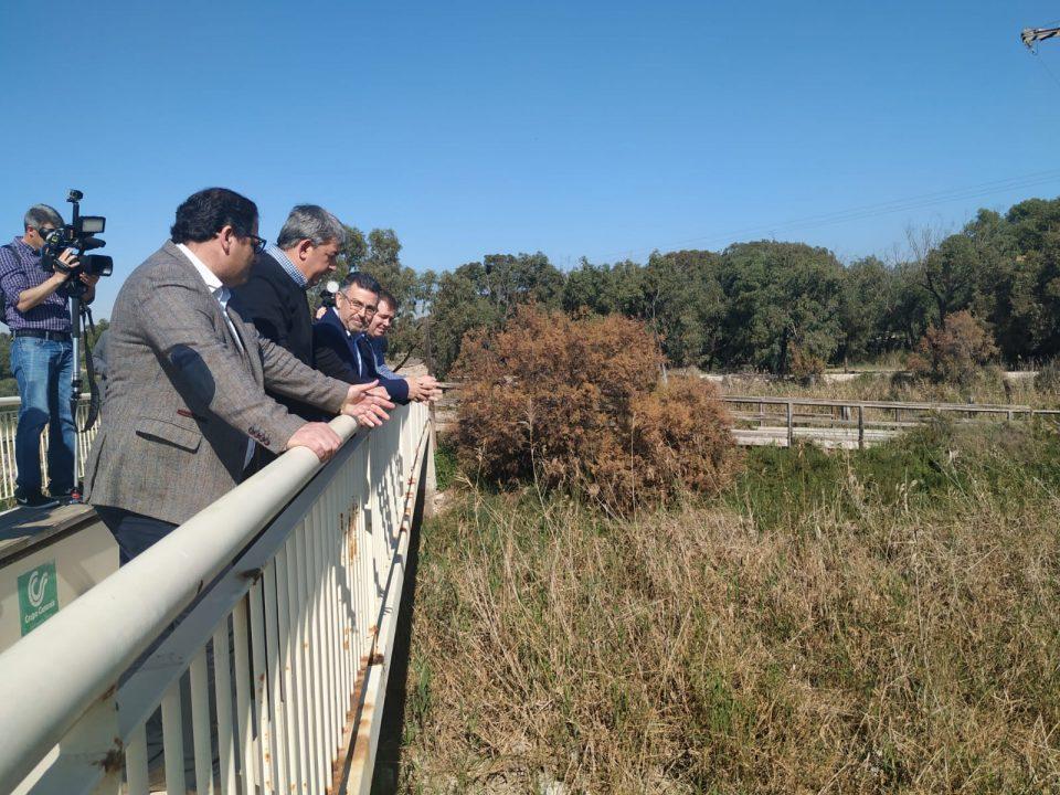 El PSPV pide dragar la desembocadura del río y elevar la N-332 para evitar inundaciones 6