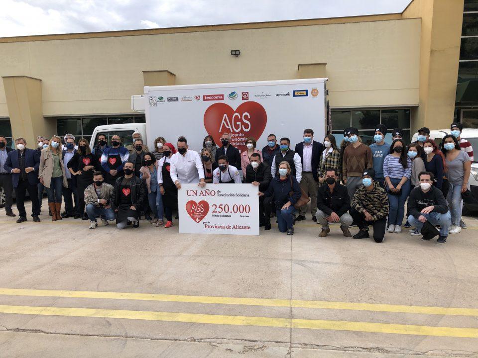 Alicante Gastronómica Solidaria distribuye más de 250.000 menús desde el inicio de la pandemia 6