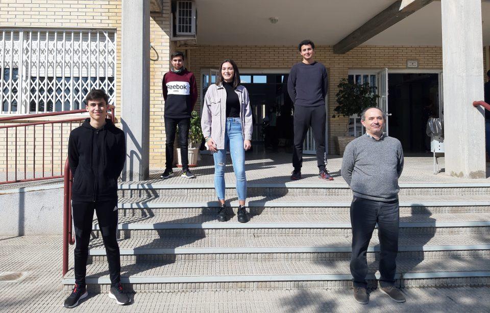 Alumnos del IES Tháder representará a España en la Fase Internacional de un concurso de Matemáticas 6