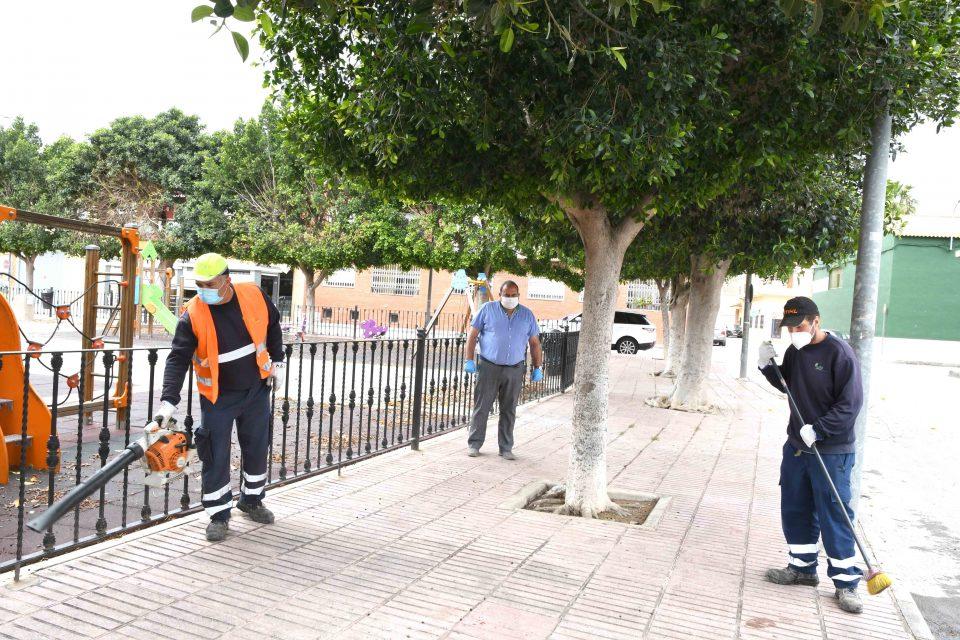 ILDO se encargará del mantenimiento de 134 espacios verdes de Orihuela 6