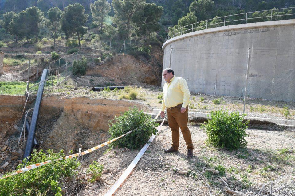 La reparación del depósito de agua de San Antón contará con una mejora del entorno 6
