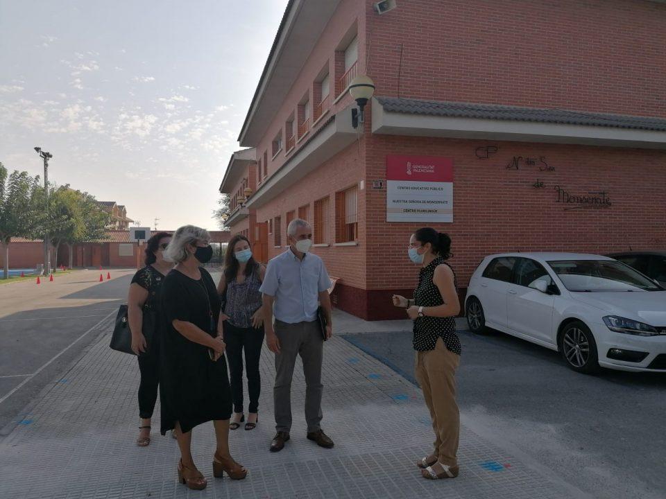 La Generalitat continúa con la construcción de centros educativos nuevos, ampliaciones y mejoras 6