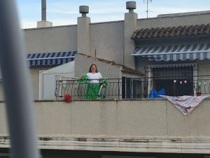 La Calle Aragón de Orihuela cuida a sus mayores y celebra la Feria de Abril 13