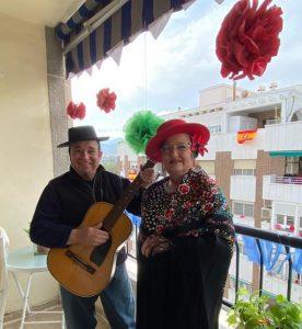 La Calle Aragón de Orihuela cuida a sus mayores y celebra la Feria de Abril 12