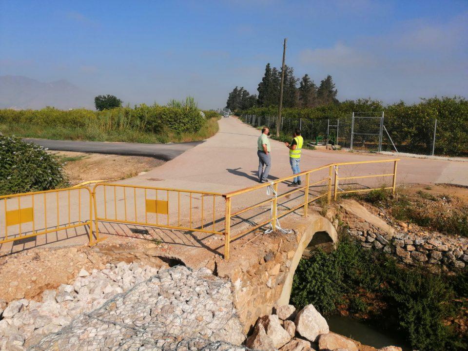 Asfaltado del camino de Millanares, Azarbe de Abanilla y Vereda de Don Fernando 6