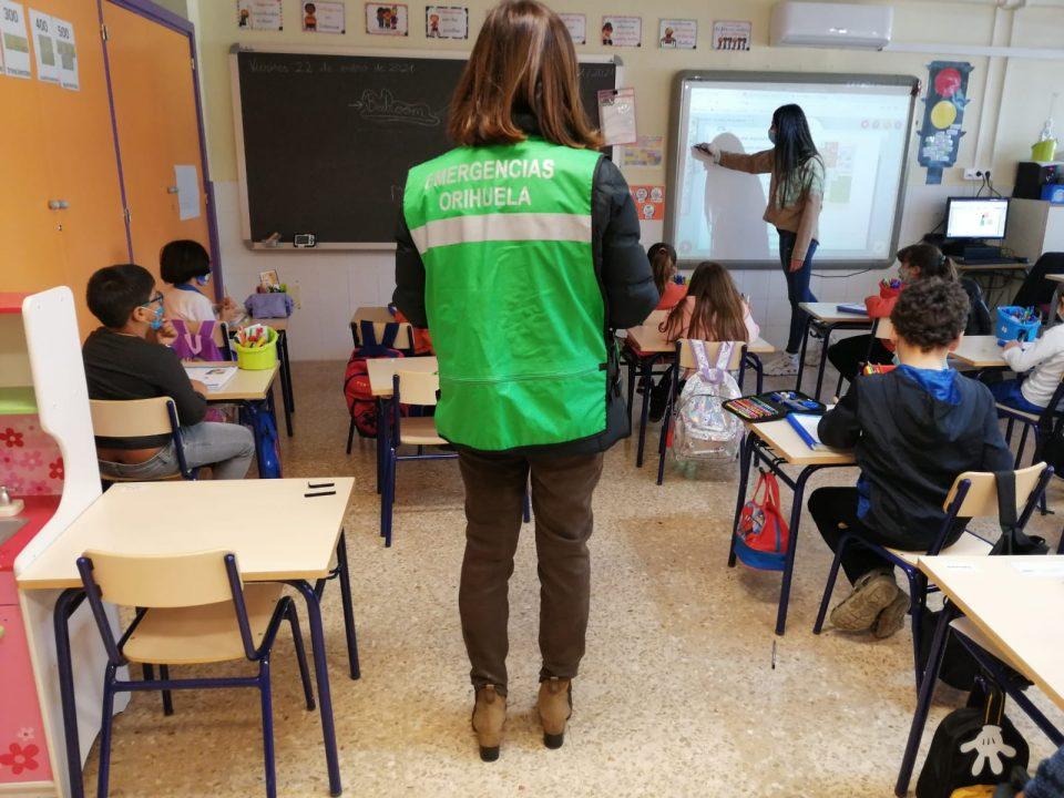 El 85% de las aulas en Orihuela cumplen con los parámetros recomendados de CO2 6