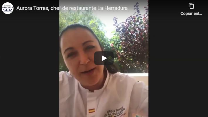 La chef Aurora Torres, en la dirección de la Selección Española de Cocina 6
