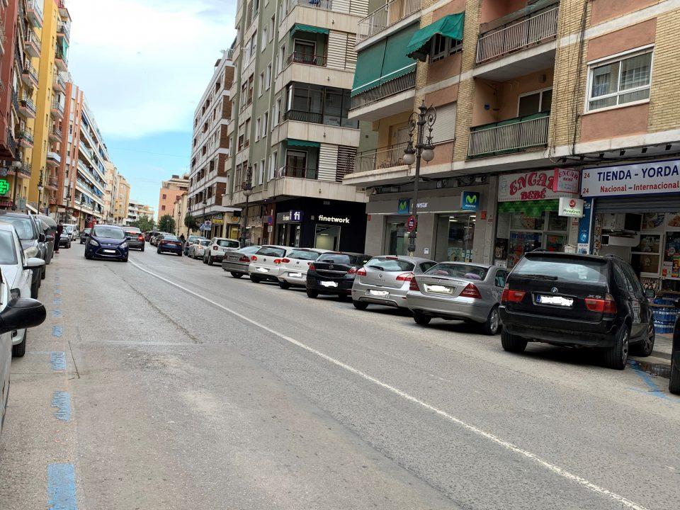 La reurbanización de Duque de Tamames llevará la zona azul a las calles adyacentes 6