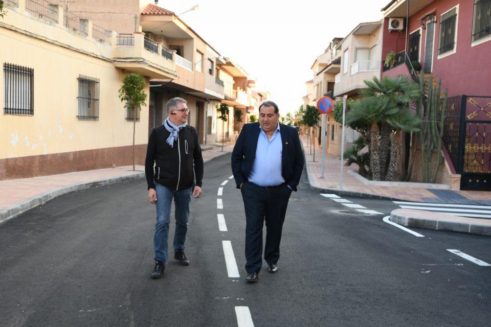 Remodelan la Avenida de la Libertad de La Murada 6