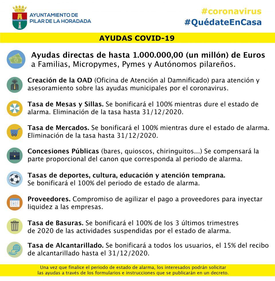 Pilar de la Horadada destina un millón de euros en ayudas frente al COVID-19 6