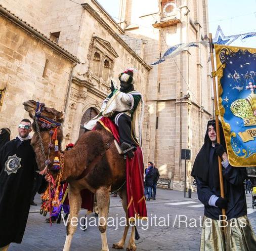 Los Reyes Magos reciben en audiencia a los niños de la Vega Baja 6
