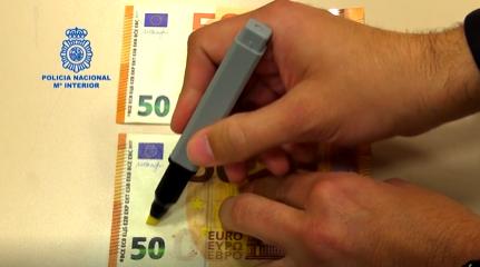 Cuidado con la detección de billetes falsos mediante el rotulador 6