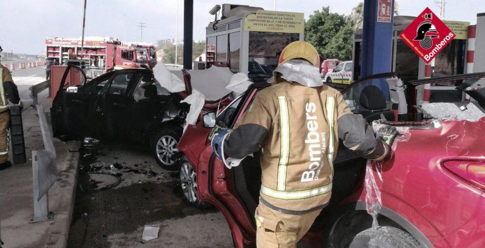 Siete heridos en un accidente en Orihuela 6