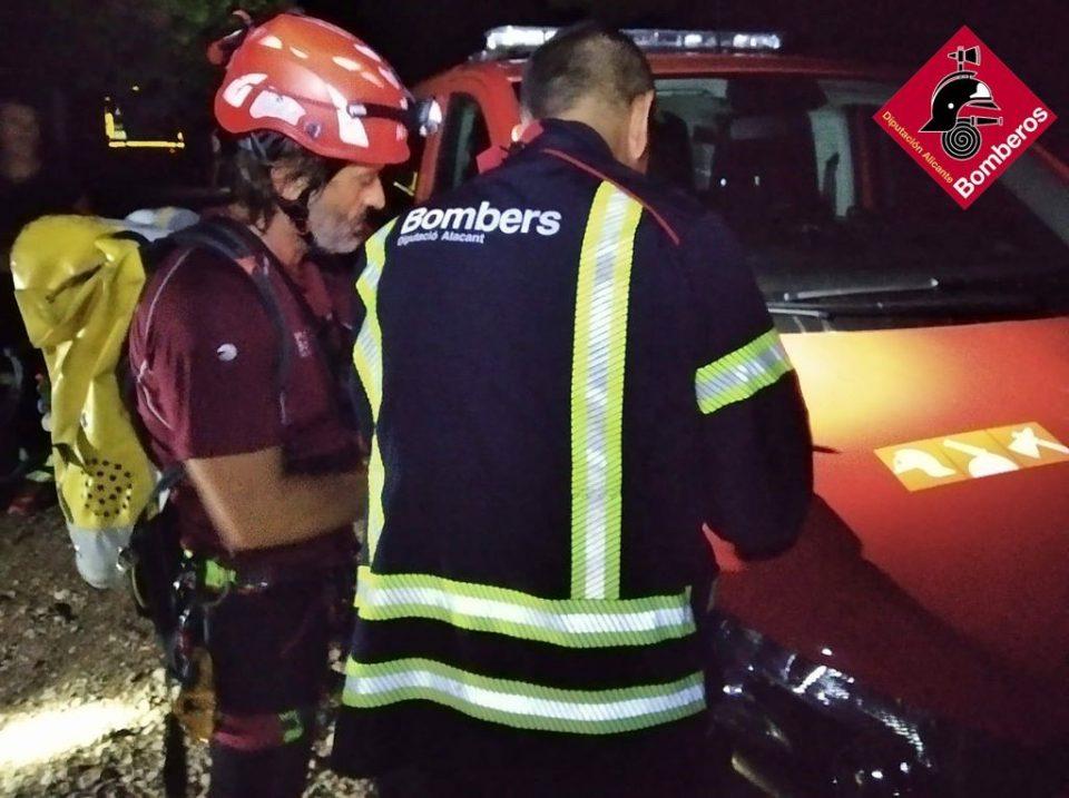Extinguido un incendio en un parking subterráneo en Orihuela 6