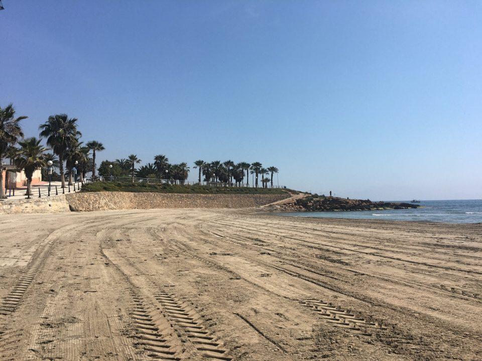 Orihuela reabre su playas este lunes 6