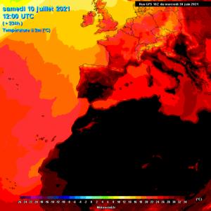 Primer fin de semana de julio rondando los 40°C 8