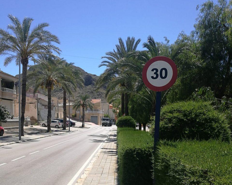 En vigor las nuevas limitaciones de velocidad urbana 6