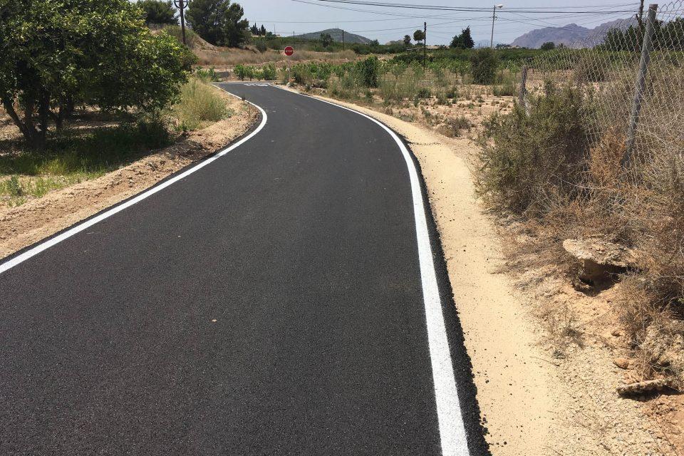 Acondicionamiento de caminos en Benijófar, Formentera del Segura y Algorfa 6