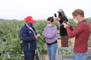 Una reconocida chef francesa se interesa por la alcachofa de la Vega Baja 8