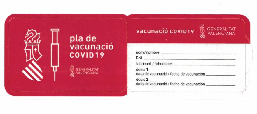El lunes arranca una nueva vacunación masiva y la entrega del carnet con sus datos 6