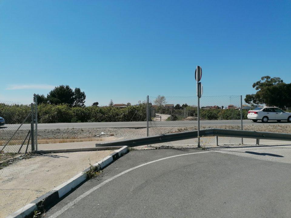 Rafal instará a la Generalitat a recuperar la carretera de conexión con la pedanía de San Bartolomé 6