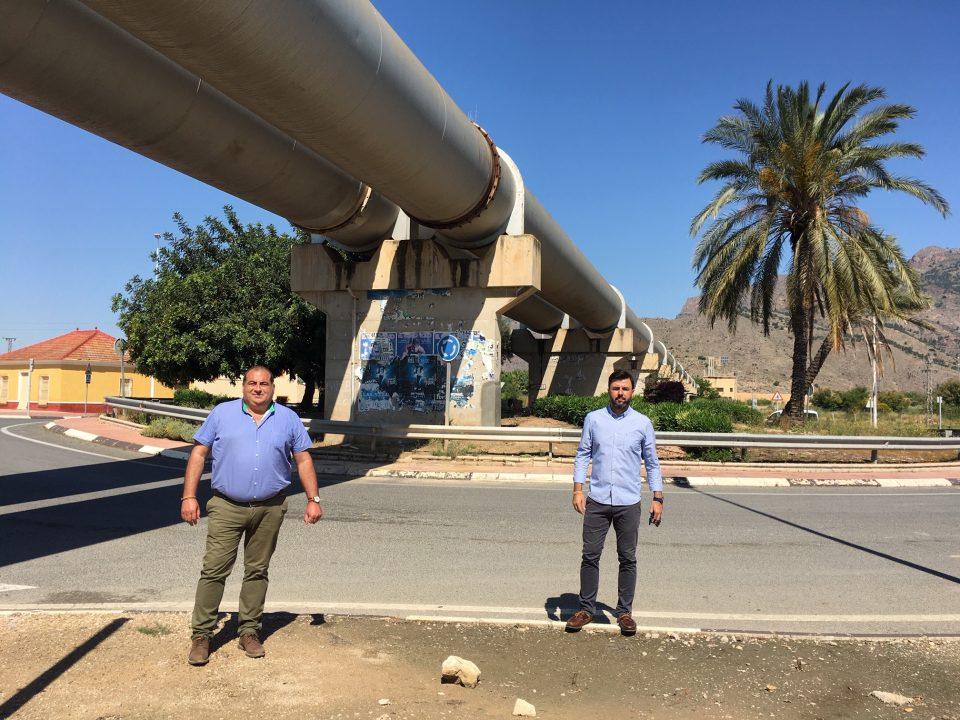 Orihuela estudia acondicionar y mejorar la seguridad vial de la Carretera de los Tubos 6