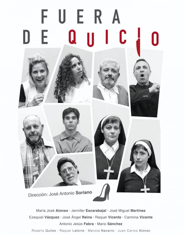 """""""Fuera de quicio"""" llega a Orihuela a cargo de Bureo Teatro 6"""
