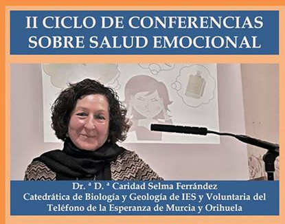Este miércoles arranca el II Ciclo sobre Salud Emocional en el Colegio Santo Domingo 6