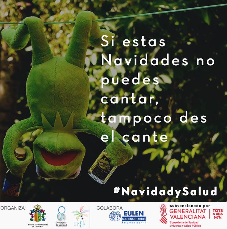 Sanidad y la UPCCA de Orihuela lanzan una campaña para prevenir el consumo de alcohol en Navidad 6