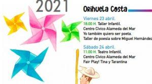 Orihuela y su costa celebrará un divertido Día del Libro 7