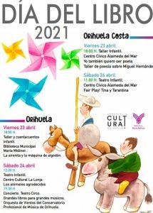 Orihuela y su costa celebrará un divertido Día del Libro 8