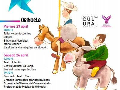Orihuela y su costa celebrará un divertido Día del Libro 6