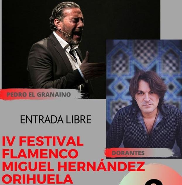 """El IV Festival Flamenco Miguel Hernández sube a las tablas a Dorantes y Pedro """"El Granaino"""" 6"""