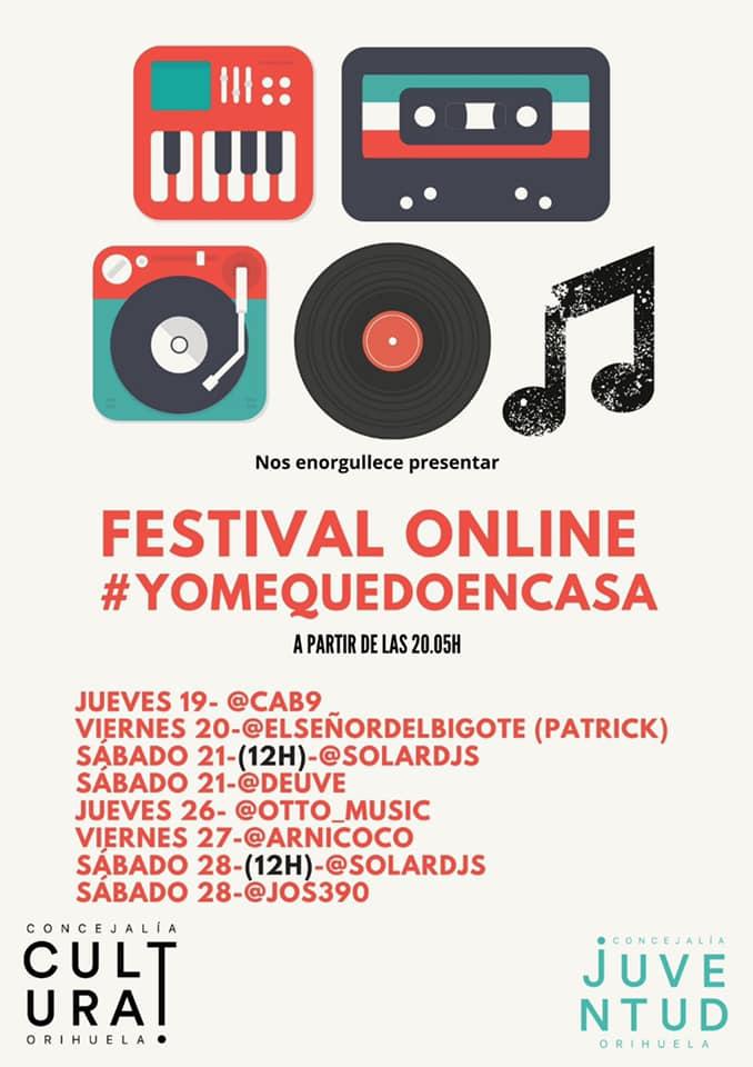 Un Festival online con Dj,s oriolanos combatirá la cuarentena 6