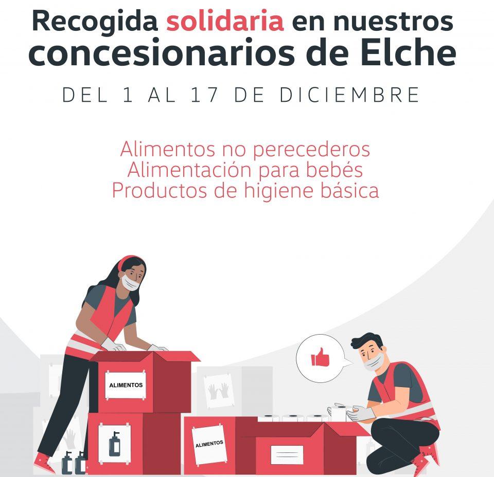 Grupo Serrano Automoción y Conciénciate impulsan una recogida solidaria de alimentos 6