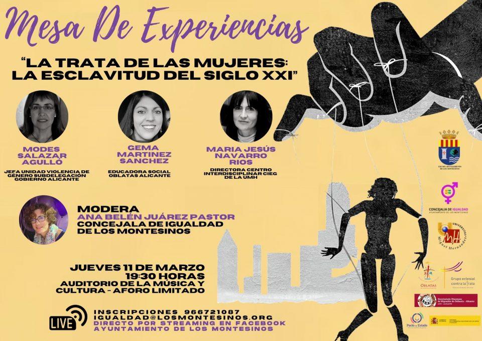 Los Montesinos organiza una Mesa de Experiencias sobre la trata de mujeres 6