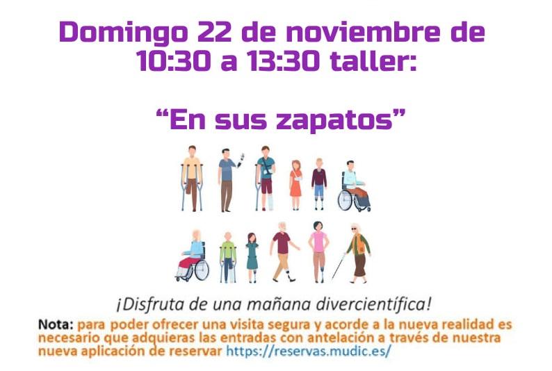 El MUDIC organiza un taller sobre diversidad funcional 6