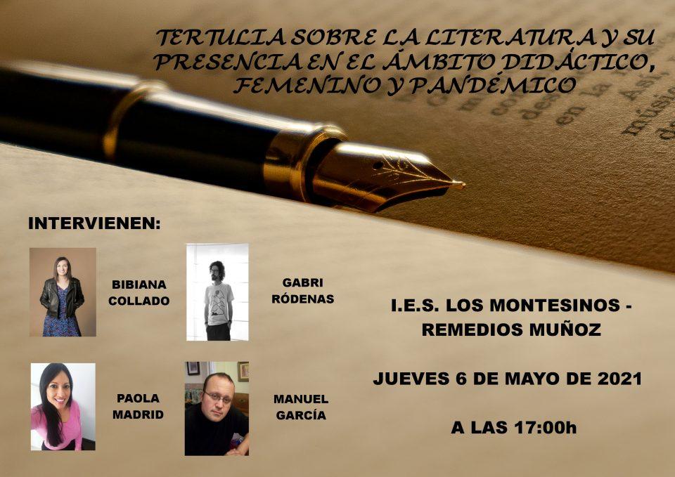 El IES Los Montesinos acogerá una tertulia literaria 6