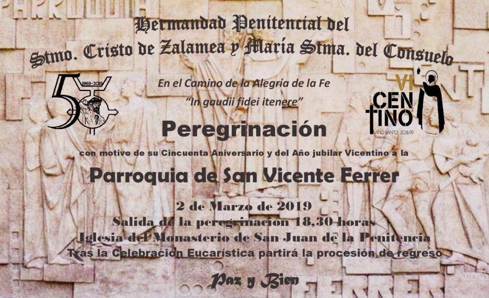 """""""El Cristo de Zalamea"""" organiza una peregrinación de su imagen titular 6"""