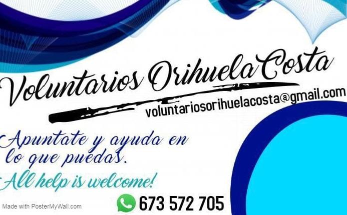 Un grupo de voluntarios ayuda a personas mayores de Orihuela Costa durante la crisis sanitaria 6