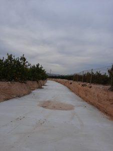 Investigan la construcción de un cauce que conduciría las aguas pluviales a Benferri 7