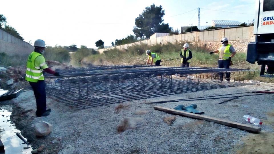 La CHS prevé que las obras del río en Almoradí finalicen en mayo 6