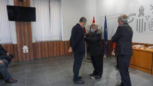 La CHS recibe la medalla colectiva al mérito de la Protección Civil 7