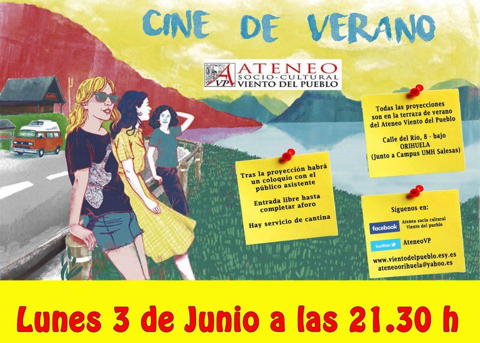 Vuelve el Cine de Verano del Ateneo 6