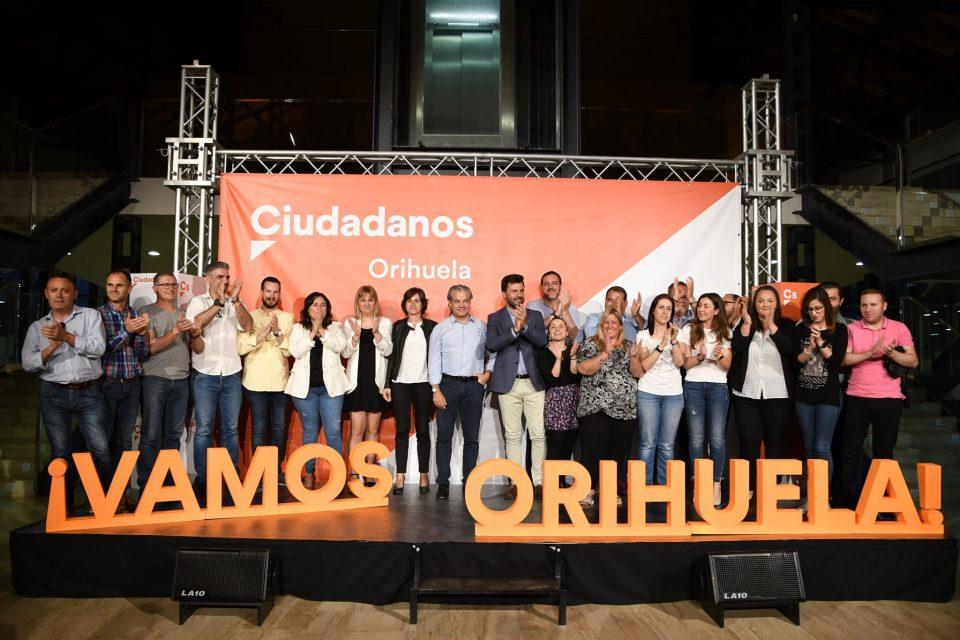Diputados nacionales de Ciudadanos apoyan a la candidatura de José Aix en Orihuela 6