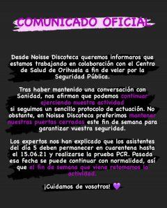 Salud Pública busca a los asistentes a una discoteca de Torrevieja por un brote de COVID19 7