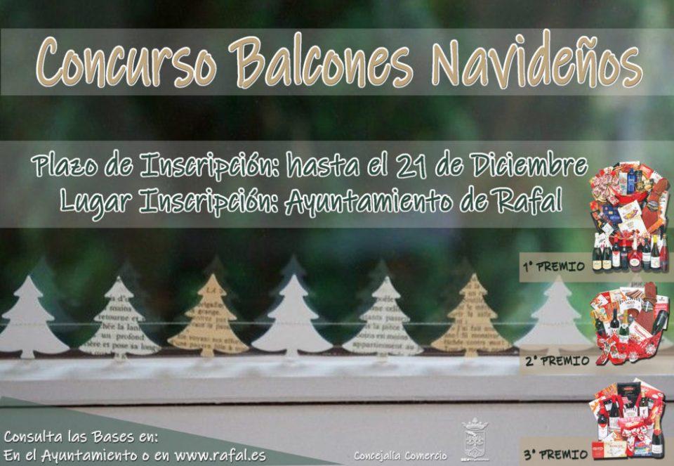 Rafal convoca concursos de balcones y escaparates navideños 6
