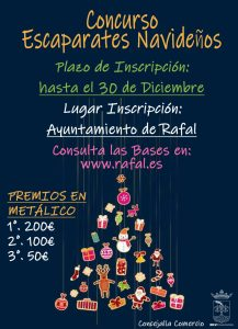 Rafal convoca concursos de balcones y escaparates navideños 7