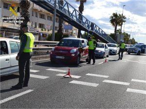 La Guardia Civil continúa con grandes despliegues para el cumplimiento del cierre perimetral 7